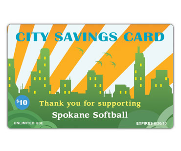 Fundraising Discount Cards - City Savings Cards