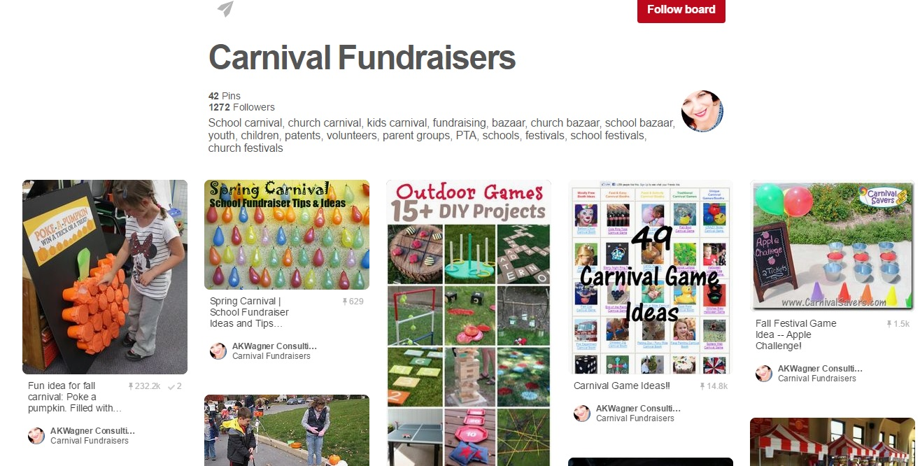 School carnival fundraising ideas