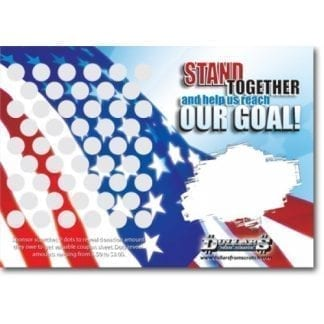Flag Custom Scratch Card Image